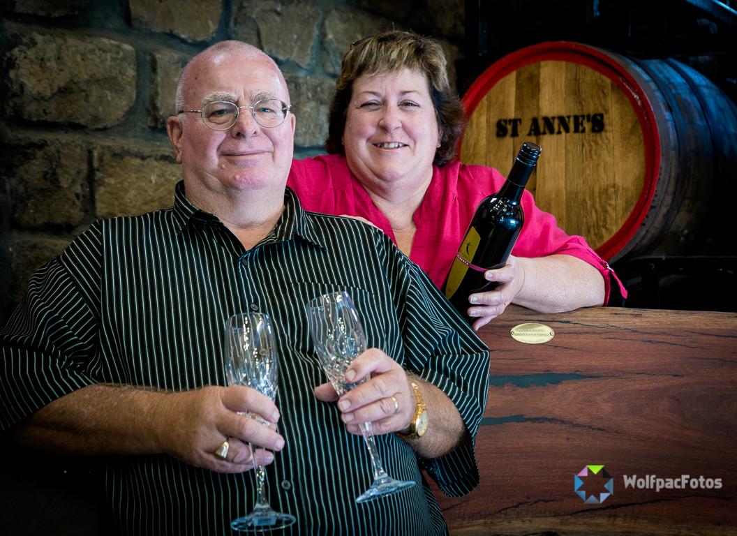 Susie and Pete – St Anne's Winery