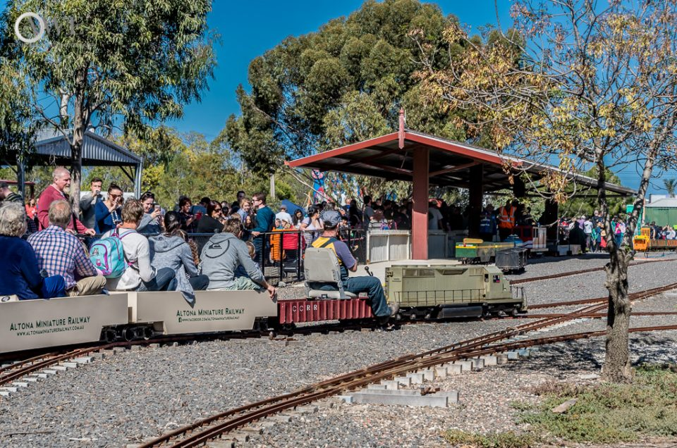 Altona Miniature Railway – Open Day Apr '16